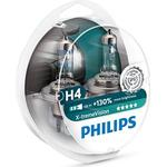 Halogen Lamps - Tube Philips H4 X-tremeVision Halogen Lamps 55W P43t-38 2-pack