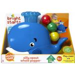 Toys Bright starts Silly Spout Whale Boll Popper