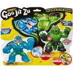 Character Heroes of Goo Jit Zu Thrash vs Rockjaw 2 Pack