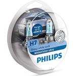 Halogen Lamps - Vehicle Lamps Philips H7 WhiteVision Ultra Halogen Lamps 55W PX26d 2-pack