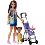Cheap Doll Pram Barbie Skipper Babysitters Doll & Playset