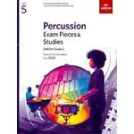 Abrsm grade 5 Books Percussion Exam Pieces & Studies, ABRSM Grade 5 (Other, 2019)