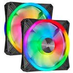 Fans Corsair iCUE QL140 RGB PWM 140mm LED 2-pack