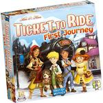 Childrens Board Games - Routes & Network Ticket to Ride: First Journey Europe