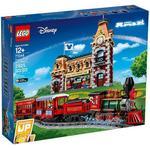 Plasti - Lego Disney Lego Disney Train & Station 71044