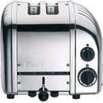 Silver Toasters Dualit 2 Slot Classic Vario AWS