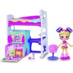 Shopkins Toys Moose Shopkins Lil Secrets Rainbow Kate's Bedroom Hideaway