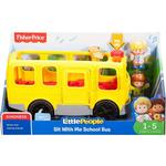 Plasti - Bus Fisher Price Little People Sit with Me School Bus