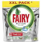 Cleaning Equipment & Cleaning Agents Fairy Platinum All in One 70-Tablets