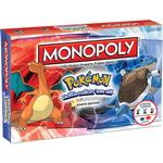 Childrens Board Games - Roll-and-Move Monopoly: Pokémon