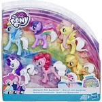 Surprise Toy - Figurines Hasbro My Little Pony Rainbow Road Trip Collection Tail Surprise
