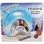 Plasti - Musical Instruments Disney Frozen 2 Sing Along Boombox