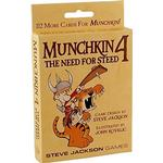 Party Games - Fantasy Steve Jackson Games Munchkin 4: The Need for Steed