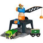 FSC - Train Track Extensions Brio Smart Tech Container Crane 33962