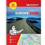 Spirales Books Europe 2020 - tourist and motoring atlas (a4-spiral) - tourist & motoring a