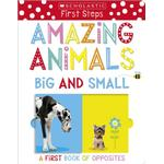 Amazing Animals Big and Small: A First Book of Opposites (Bog, Board book)