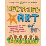 Recycled Art: Making great art from cardboard boxes,... (Bog, Hardback)