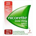 Nicotine Patches Nicorette Step1 Invisi 25mg 7pcs