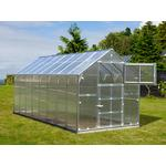 Stainless steel - Freestanding Greenhouses Dancover Titan Classic 480 9.7m² Stainless steel Polycarbonate