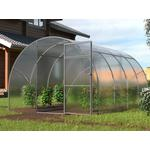 Stainless steel - Freestanding Greenhouses Dancover Titan Arch 90 12m² Stainless steel Polycarbonate