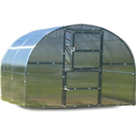 Stainless steel - Freestanding Greenhouses Dancover Titan Arch 280 6m² Stainless steel Polycarbonate