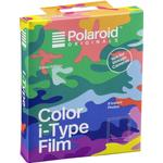 Instant Film Polaroid Color i-Type Film Camo Edition 8 Pack