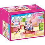 Dollhouse Accessories - Plasti Playmobil Dollhouse Nursery 70210