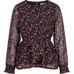Long sleeve - Blouses & Tunics Children's Clothing Creamie Chiffon Blouse - Black (821299-1007)