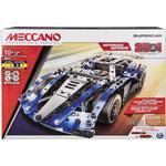 Construction Kit - Metal Spin Master Meccano 25 in 1 Model Set Super Car