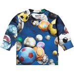 Multicolour - T-shirts Children's Clothing Molo Eloy - Cosmic Footballs (3W19A404 4881)