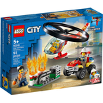 Fire fighter - Lego City Lego City Fire Helicopter Response 60248