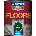 Floor Paint Johnstones Speciality Garage Floor Paint Green 2.5L
