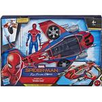 Spider-Man - Action Figures Hasbro Marvel Spider Man with Spider Jet E3548