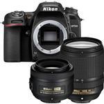 Nikon D7500 + 18-140mm ED VR + 35mm