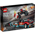 Lego Technic on sale Lego Technic Stunt Show Truck & Bike 42106