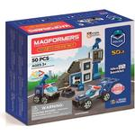 Construction Kit - Police Magformers Magformer's Amazing Police Set 50pcs