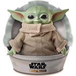Plasti - Soft Toys Mattel Star Wars The Child Small Yoda Mandalorian 28cm