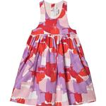 Everyday Dresses - Pocket Children's Clothing Stella McCartney Retro Paint Print Dress - Pink&Purple (585714)