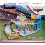 Play Set Mattel Disney Pixar Cars Florida 500 Racing Garage Playset