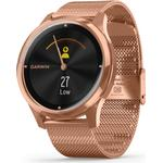 Garmin Vivomove Luxe 42mm Stainless Steel Case with Milanese Band