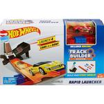 Cheap Car Track Set Hot Wheels Track Builder Rapid Launcher