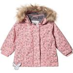 Hood with fur - Winter Jacket Children's Clothing Wheat Elice Jacket - Soft Peach Rose