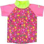Print - UV Shirt Children's Clothing Imsevimse Swim & Sun T-shirt - Pink Beach Life