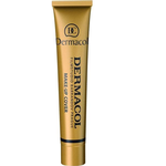 Base Makeup & Setting Spray Dermacol Make-Up Cover SPF30 #224 Dark Orange-Brown with Golden Undertone