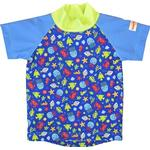 Print - UV Shirt Children's Clothing Imsevimse Swim & Sun T-shirt - Blue Sea Life