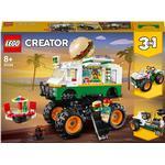 Lego Creator 3-in-1 Lego Creator 3-in-1 Monster Burger Truck 31104