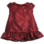 Party Dresses - Cotton Children's Clothing Wheat Hellen Dress - Dark Berry