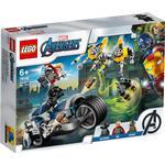 Lego avengers Toys Lego Marvel Avengers Speeder Bike Attack 76142
