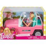 Doll Vehicles on sale Barbie Car Jeep & 2 Dolls