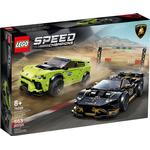 Plasti - Lego Speed Champions Lego Speed Champions Lamborghini Urus St X & Lamborghini Huracán Super Trofeo Evo 76899